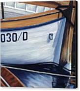 Capri Boats Canvas Print