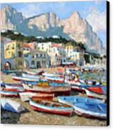 Capri Sunshine Canvas Print