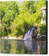 Capricho Waterfall Canvas Print by Stefano Piccini