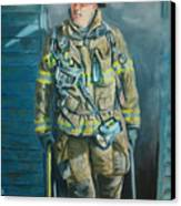 Captain Harris Canvas Print