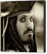 Captain Jack Sparrow Canvas Print by David Patterson