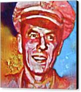 Captain Ronald Reagan Canvas Print by Dean Gleisberg