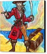 Captain's Treasure Canvas Print