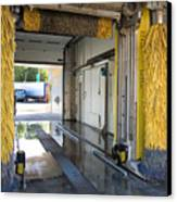 Car Wash Interior Canvas Print
