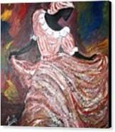 Caribbean Dancer Canvas Print