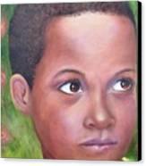 Caribe Child Canvas Print