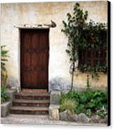 Carmel Mission Door Canvas Print