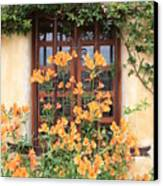 Carmel Mission Window Canvas Print