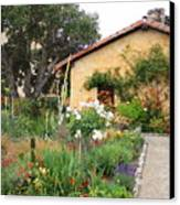 Carmel Mission With Path Canvas Print