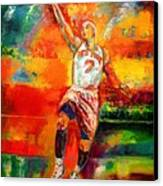 Carmelo Anthony New York Knicks Canvas Print