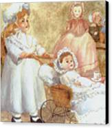 Caroline's Dolls Canvas Print
