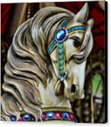 Carousel Horse  Canvas Print by Paul Ward