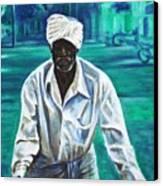 Cart Vendor Canvas Print