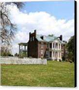 Carter House And Carnton Plantation Canvas Print by John Black