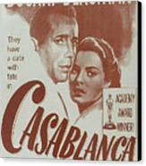 Casablanca Canvas Print
