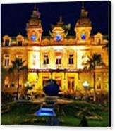 Casino Monte Carlo Canvas Print by Jeff Kolker
