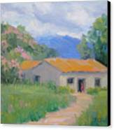 Casita De Campo Canvas Print