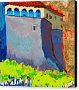 Castello Di Villafranca Canvas Print