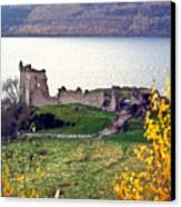 Castle Ruins Scotland Canvas Print