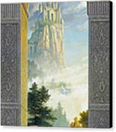 Castles In The Sky Canvas Print by Greg Olsen