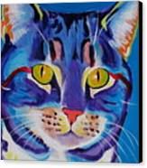 Cat - Lady Spirit Canvas Print by Alicia VanNoy Call