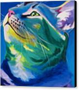 Cat - My Own Piece Of Sky Canvas Print by Alicia VanNoy Call