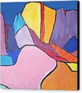 Catalina Fugue Canvas Print by Mordecai Colodner