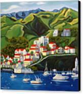 Catalina Island 2 Canvas Print by Milagros Palmieri