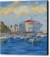 Catallina Casino Canvas Print by Jay Johnson