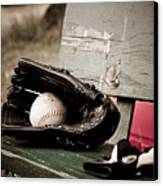 Catcher Canvas Print by Valerie Morrison