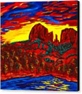 Cathedral Magic Canvas Print