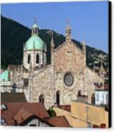 Cathedral Of Como Canvas Print
