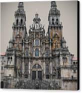 Cathedral Of Santiago De Compostela Canvas Print