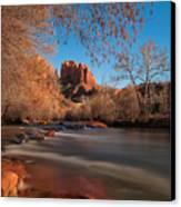 Cathedral Rock Sedona Arizona Canvas Print by Larry Marshall
