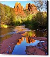 Cathedral Rock Sedona Canvas Print by Matt Suess