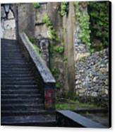 Cathedral Stairs Canvas Print