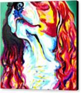 Cavalier - Herald Canvas Print by Alicia VanNoy Call