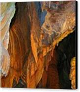 Cave At Cheddar Gorge  Canvas Print by Jen White