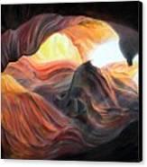 Caverne Canvas Print
