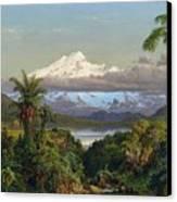 Cayambe Canvas Print by Frederic Edwin Church