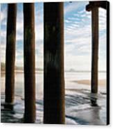 Cayucos Pier Canvas Print