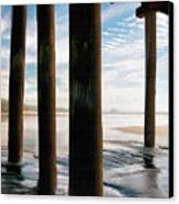 Cayucos Pier Canvas Print by Sharon Foster