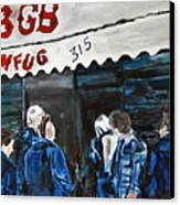 Cbgb's Canvas Print