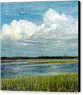 Cedar Key 1 Canvas Print by Bob Senesac