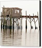 Cedar Key Structure Canvas Print by Patrick M Lynch
