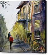 Cedarburg Shadows Canvas Print by Ryan Radke