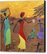 Celebrate Canvas Print by Judy M Watts-Rohanna