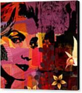 Celebrating Life Canvas Print by Ramneek Narang