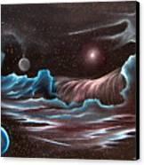 Celestial Wave Canvas Print by David Gazda