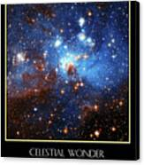 Celestial Wonders Canvas Print by Our Creator